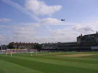The Ashes - 5th Day at The Oval (September 2005)
