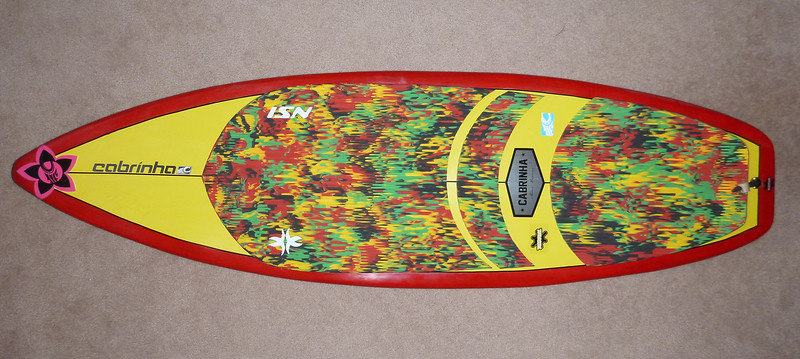 "2014-New 5'4"" McD Happy Meal Surfboard"