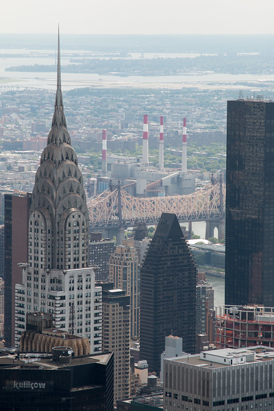 The Chrysler Building -- A trip up the Empire State Building, New York City
