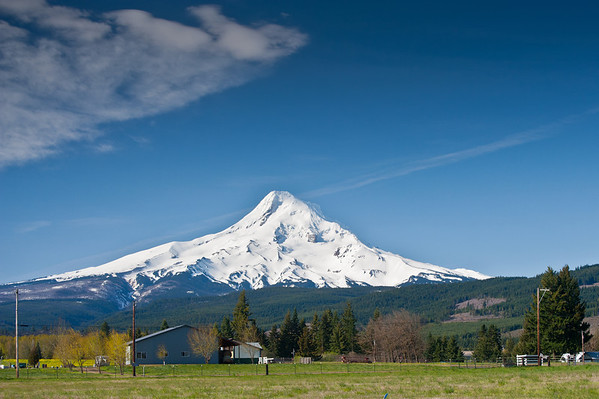 Mount Hood and the Hood River Valley