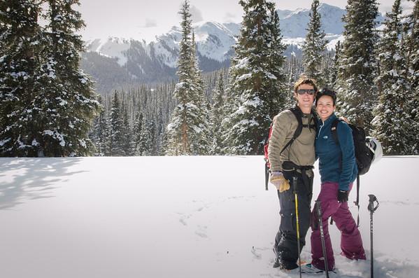 Jen & Chuck's Backcountry Session