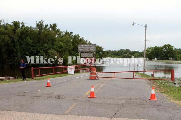 Flooding Pine Bluff May 29, 2019