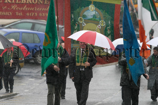 High Chief Ranger Pat Hanna at the Rostrevor parades, 07W32N308