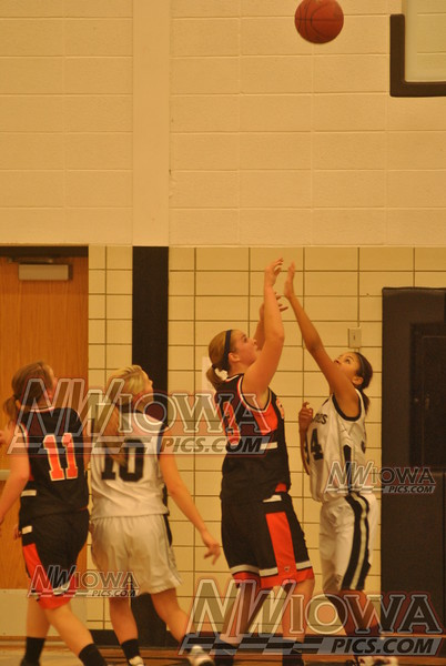 JV Girls vs South O'Brien 11/26/2012