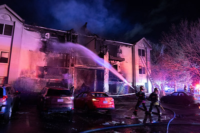 S. Reed Street 2nd Alarm Apartment Fire