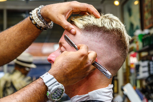 A Day In The Life of A Neighborhood Barbershop