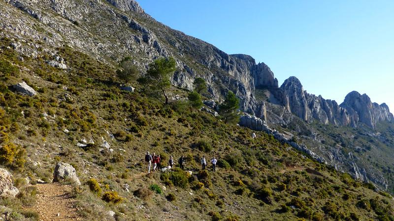 Bernia cicular route