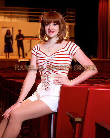 """NBHS """"Anything Goes Cast Member Photos - Individual"""
