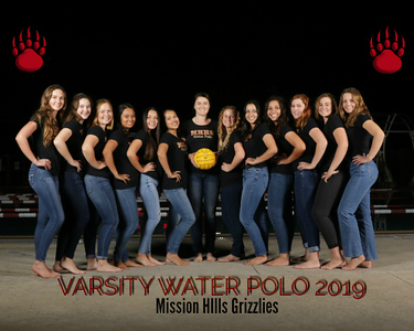 MHH2019 Girls Water Polo