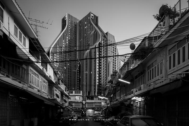 Samyan & Rama IV Road