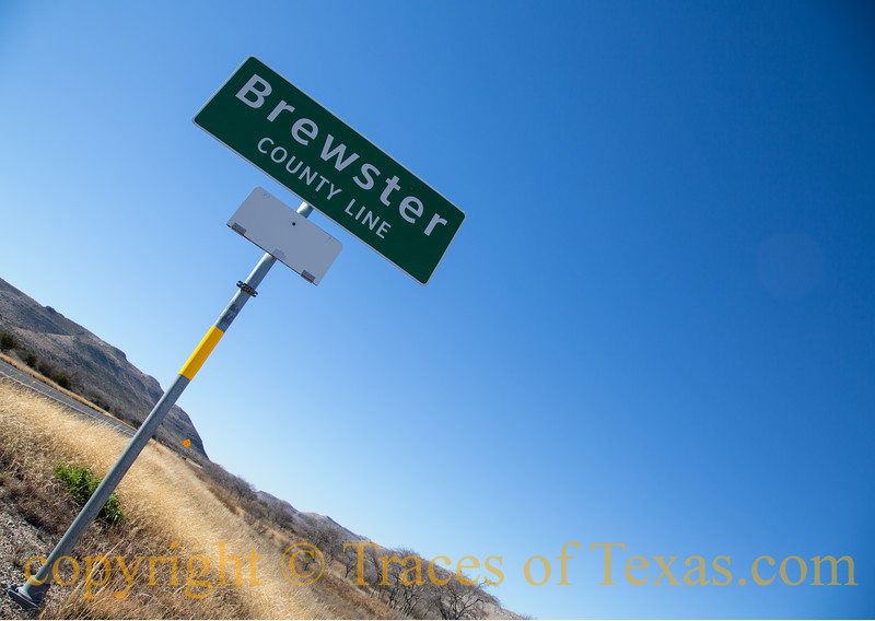 Title:<br /> <br /> Comments:<br /> <br /> Location: the eastern boundary of Brewster County