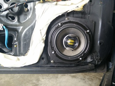1994 Honda Accord LX Coupe Front Door Speaker Installation - USA