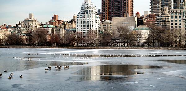 Icy Reservoir Pano II