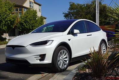 2019 Tesla Model X - Multi-Coat White - Stealth Wrap