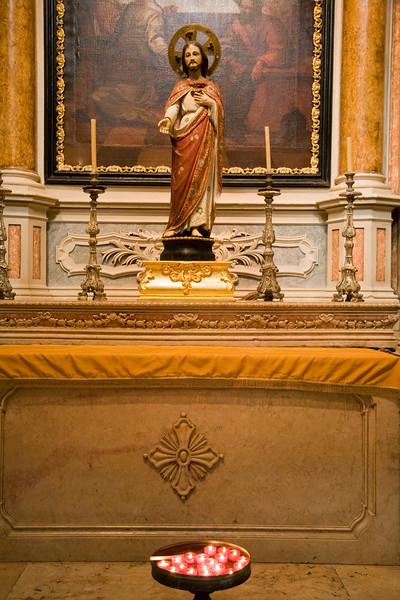 Carving of the Sacred Heart of Christ, Encarnaçao church, Lisbon