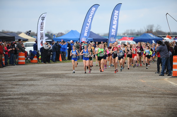 2019 MHSAA LP XC Finals - DIVISION TWO