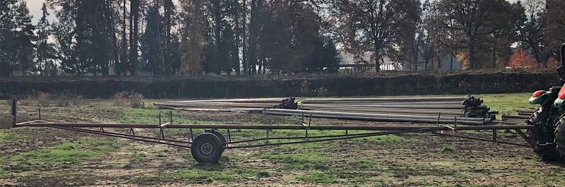 Irrigation trailer#33