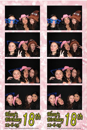 Alexa's 18th Birthday 12-6-19