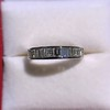 1.00ctw Half-eternity Baguette Ring 14