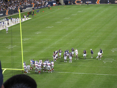 Bears Game - August 2009