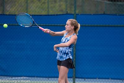 JV Tennis Girls vs Worthington Christian