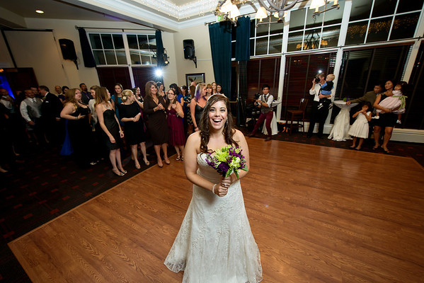 Bouquet and Garter Toss