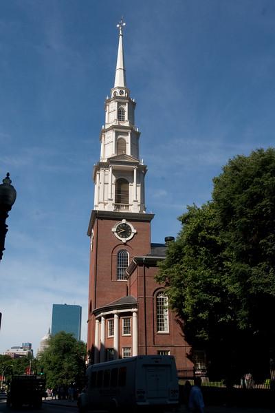 Day 7 - A Boston church near Boston Common