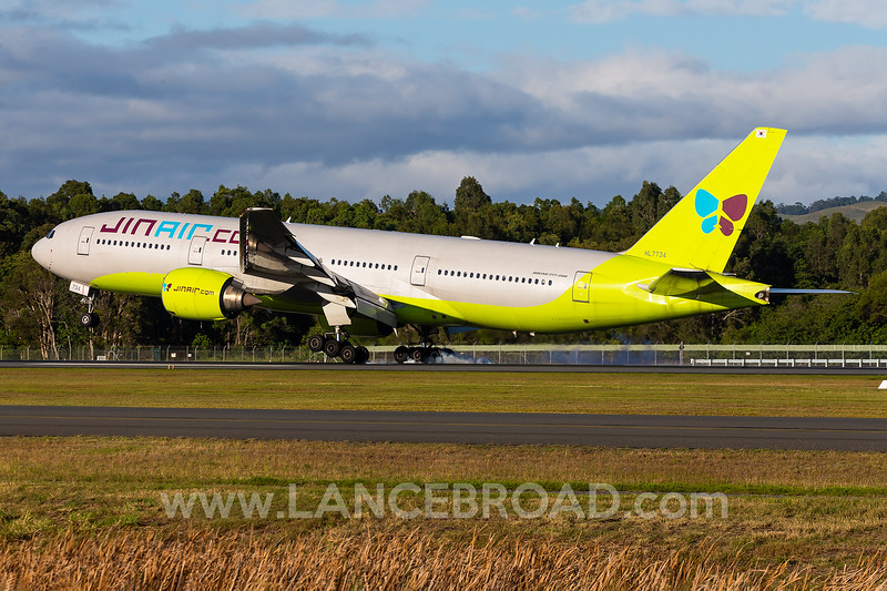 Jin Air 777-200ER - HL7734 - OOL _