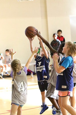 YMCA  Young Girls' Basketball 11/2/17