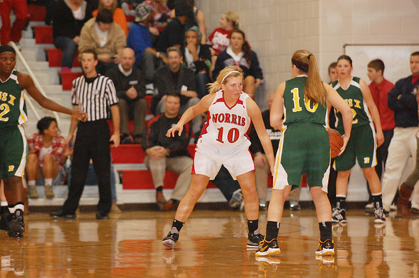 Varsity Girls Basketball vs Pius, 12-21-10
