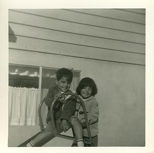 1962 Early Bustillos Years: Matthew & Joyce