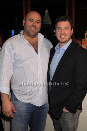 Jordan Elkin, Brian McGovern  (co-owners of Homarus) photo by Rob Rich/SocietyAllure.com © 2014 robwayne1@aol.com 516-676-3939