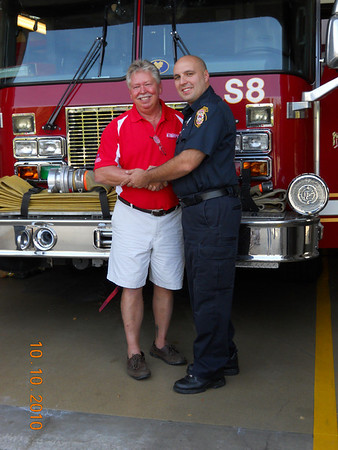 Naperville Firefighter of the year 2010/2011