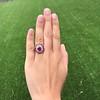3.27ctw Burma No-heat Ruby Cluster Ring, GIA cert 11