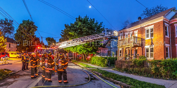 Structure Fire - Palmer Avenue - City of Poughkeepsie Fire Department - 05/18/2014