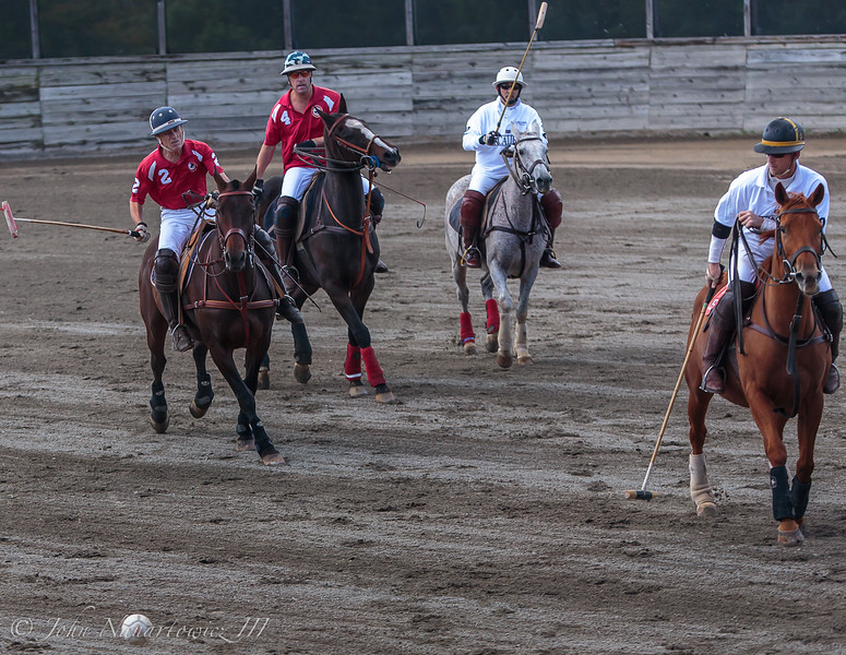 Red and White! (Arena Polo)