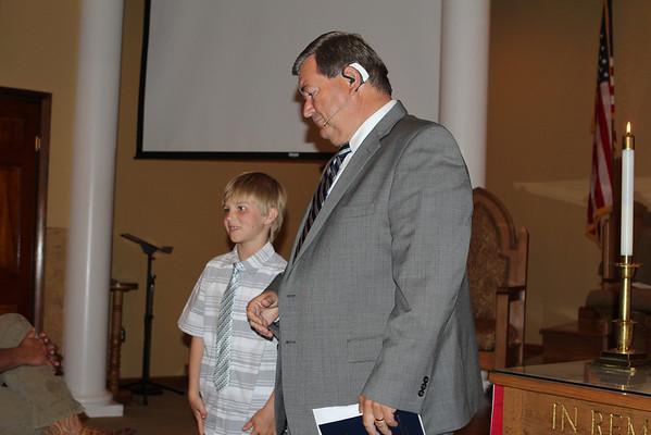 2014 Hayden Baptism
