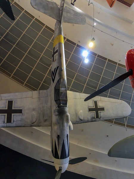 German ME109, San Diego Air and Space Museum.