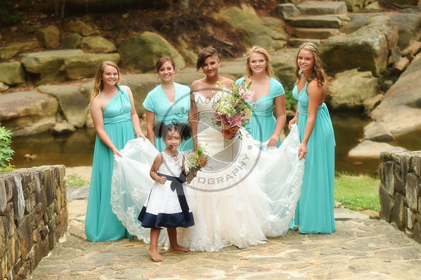 Mariah and Her Bridesmaids