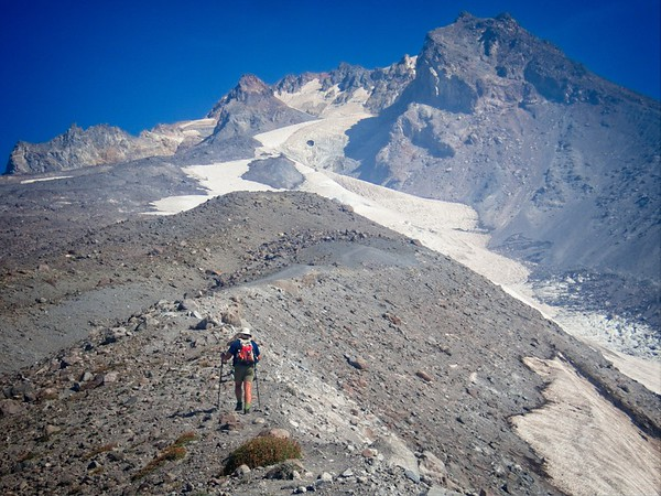 Timberline to the White River Glacier - 2020/09/07