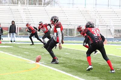 Junior Varsity - Rochester Redskins Vs Pontiac Panthers