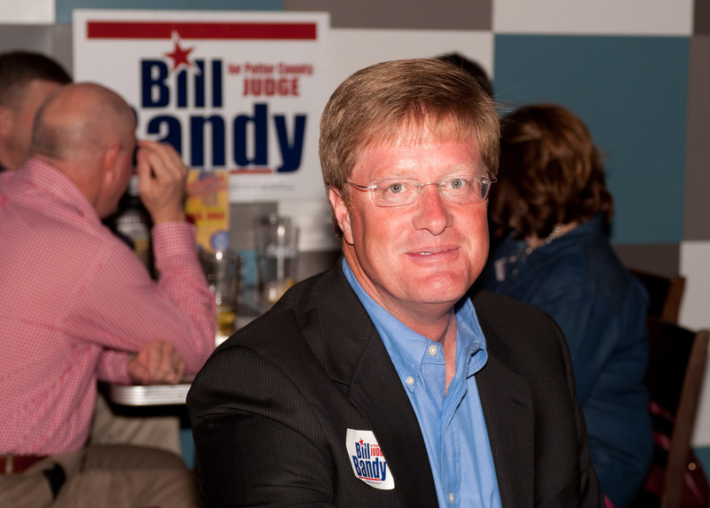 Shaie Williams / for AGN Media  Bill Bandy awaits results for the March Primary at a local watch party held at Joe Daddy's March 4, 2014.