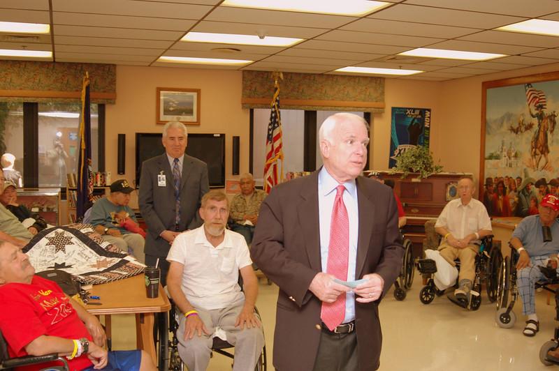 Sen McCain PVAHCS Visit 5-1-2010 5-18-08 PM.JPG
