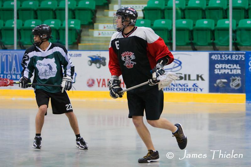 Okotoks Icemen vs Brooks Drillers June 20, 2010