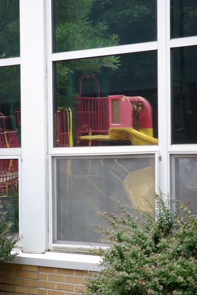 Slide reflection.