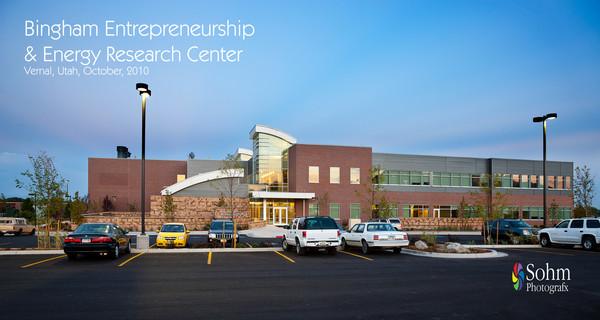 Bingham Entrepreneurship & Energy Research Center Preliminary Images