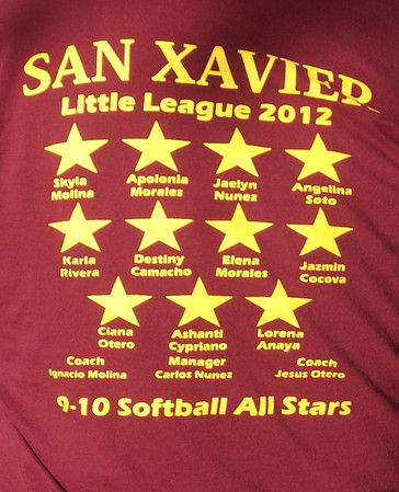 2012 Little league Sb San Xavier Southwestern
