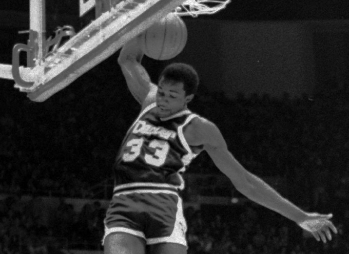 . Best � 1. David Thompson* We include the asterisk because Thompson was drafted by both the Virginia Squires of the ABA and the Atlanta Hawks of the NBA with the first overall picks in 1975. But he signed with the Nuggets after they acquired his draft rights from the Squires.He went on to became arguably one of the greatest players in franchise history, earning four All-Star appearances, an MVP award and a spot near the top of numerous Nuggets scoring categories.   Denver Nuggets\' David Thompson grabs a rebound as Los Angeles Lakers\' Norm Nixon (10), looks on, in Los Angeles in this Feb. 1978 photo. Thompson was elected Monday Feb. 5, 1996 to the Basketball Hall of Fame. (AP Photo/Nick Ut)