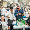 Preparing for Evening Prayers, Tel Aviv, Israel