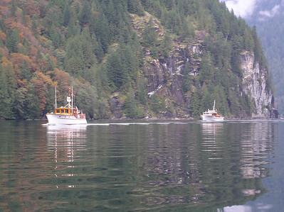 Boat trip 2004